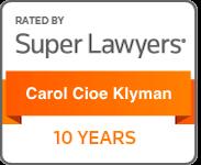Carol Cioe Klyman - Super Lawyers
